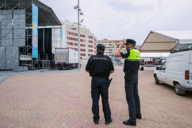 seguridad fiestas Mislata