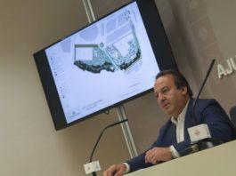 Vicent Sarrià presenta el projecte del parc Coves Carolines, de Benimàmet.