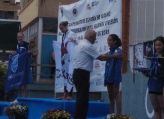 Ainara Mota natación artística Burjassot