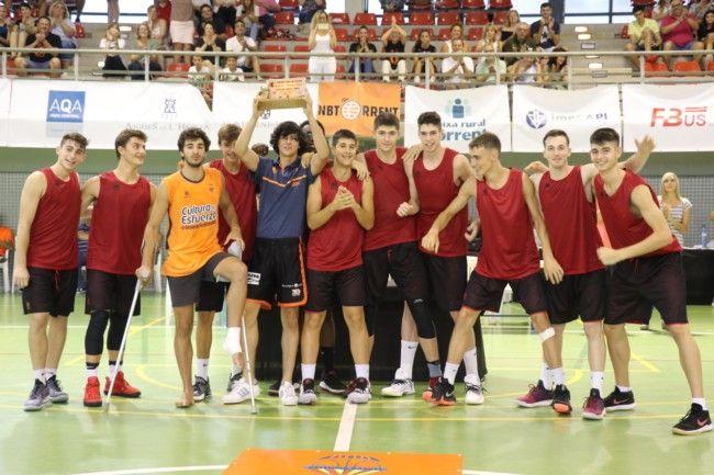 València Básquet, ganador del Torneo Memorial Pasqual Chulià
