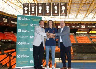 Caixa Popular amplía su apoyo también al equipo femenino de Valencia Basket