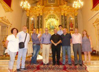 Albal despide a su párroco José Cuadros