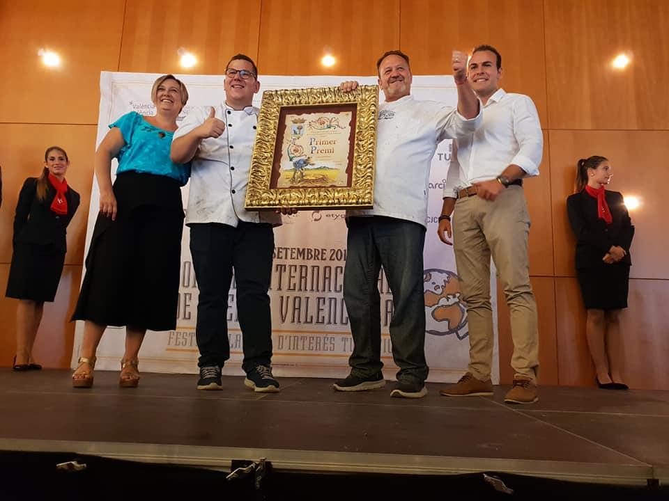 El restaurante Bon Aire de El Palmar gana Concurso Internacional de Paella Valenciana