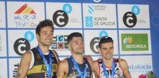 El triatleta de Manises Roberto Sánchez Mantecón campeón de España
