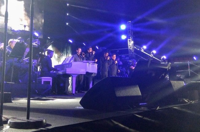 Il Divo concierto de Valencia