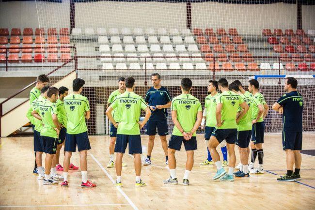 Levante UD FS entrenamiento Paterna