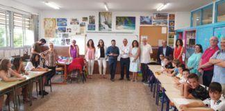 Oltra, Marzà y Martín inauguran curso escolar 18-19 en Paiporta