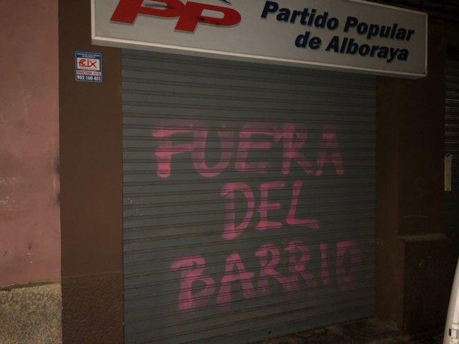 PP Alboraya sede pintadas