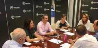 PP rueda prensa bypass Valencia