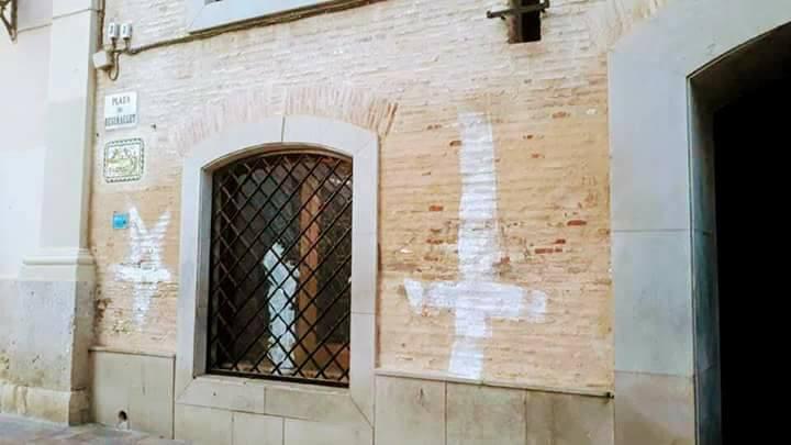 Pintadas iglesia Benimaclet