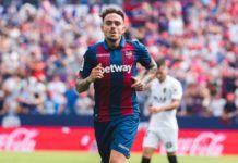 Roger gol Levante UD vs Valencia CF