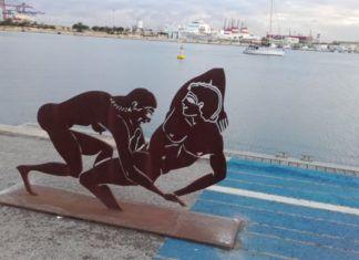 esculturas eróticas Marina Valencia de Antoni Miró