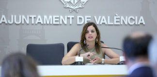 sandra Gomez ayuntamiento de Valencia