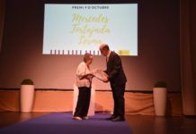 Mercedes Tortajada premio Manises 9 Octubre