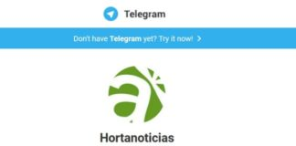 Hortanoticias en telegram