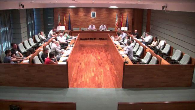 Pleno estado de la ciudad de Torrent
