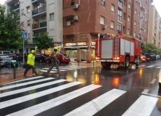 bomberos mislata lluvia achique agua