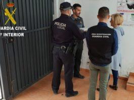 Guardia Civil devuelve proyector robado colegio Albuixech