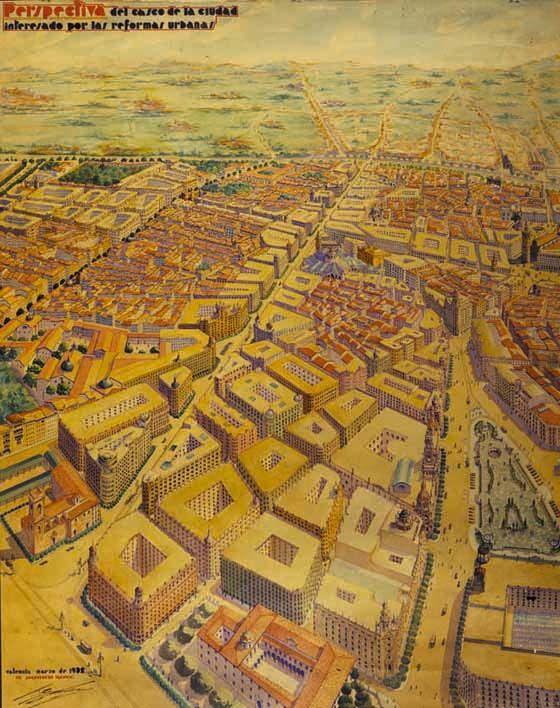 El proyecto estrella de Goerlich, inacabado, fue la avenida del Oeste, que inicialmente debía llegar hasta el cauce del Turia.