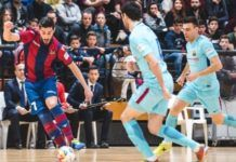 El Levante UD FS quiere llenar Paterna este martes para su partido contra el FC Barcelona