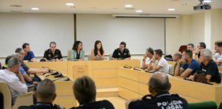 nuevos mandos Policía Local Paiporta
