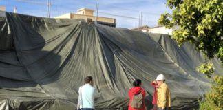 obras muro los silos burjassot