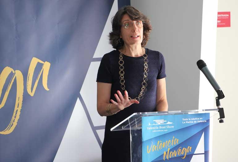 Mercedes Gomis, directora de Valencia Boat Show 2018. Foto: Javier Furió