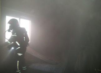Bomberos incendio Aldaia