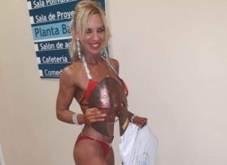 Burjassot Vanessa García Martínez Campeonato del Mundo de Culturismo