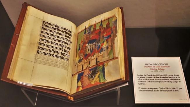 Códice Zelada (siglo XV). Precioso manuscrito del Liber de Jacobo de Cessolis. BNE