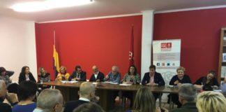 Ejecutiva Provincial PSPV reunida en Torrent