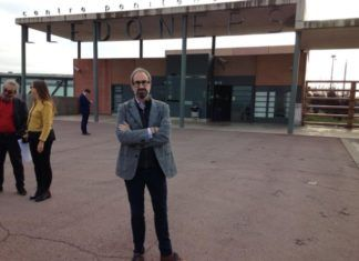 Jordi Sebastia visita politicos catalanes presos