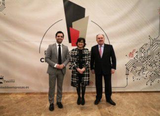 Sagredo, Blanca Marin y Santiago Salvador