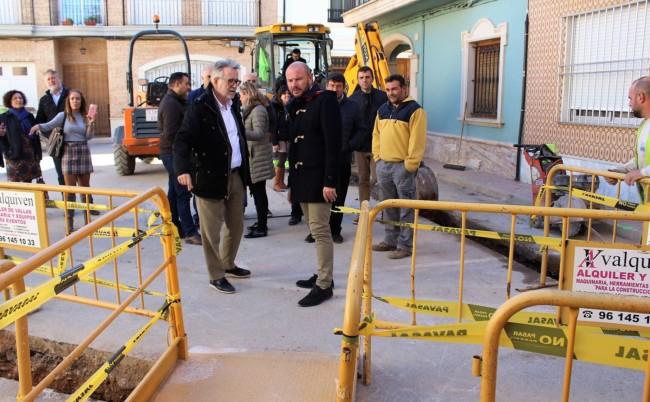 Toni Gaspar y Ramón Marí visita Albal