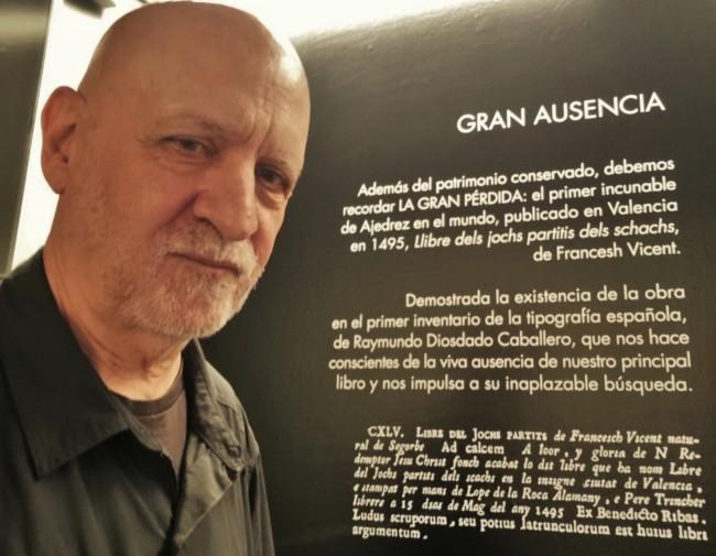 La Gran Ausencia, el mítico incunable de Vicent. Un vacío que la hondura, sensibilidad y entusiasmo de Eduardo Scala consigue mitigar.