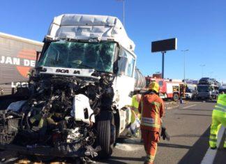 accidente camiones quart (