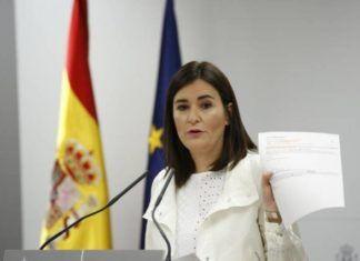 Carmen Montón ministra de sanidad
