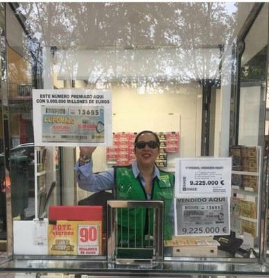 cupon ONCE Valencia premiado
