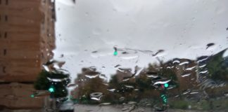 lluvia en Benimaclet