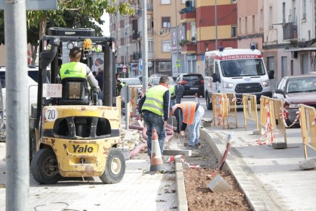 Torrent obras calle Picanya