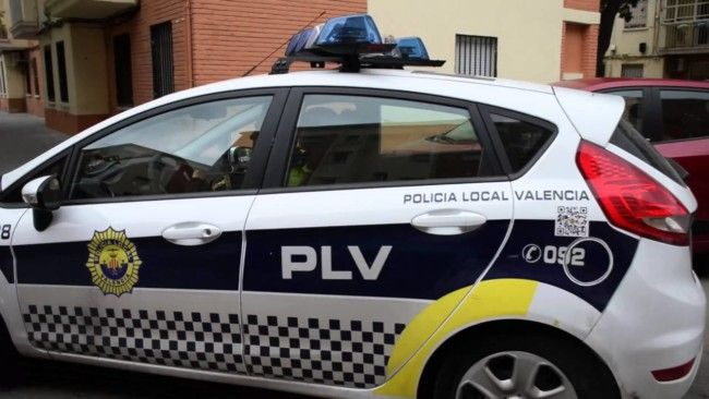 policia local valencia coche patrulla