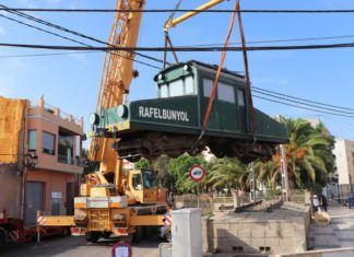trenet abans de la restauració