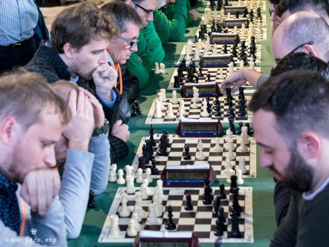 Imagen de una de las rondas durante la competición