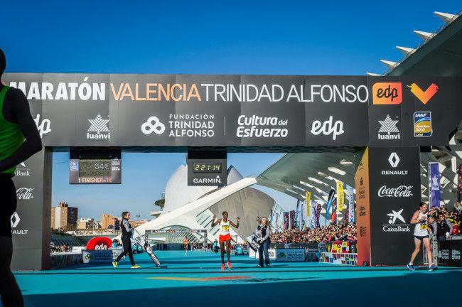 Ganadora Maraton Valencia 2018