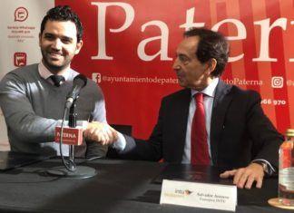 Juan A Sagredo y Salvador Arenere