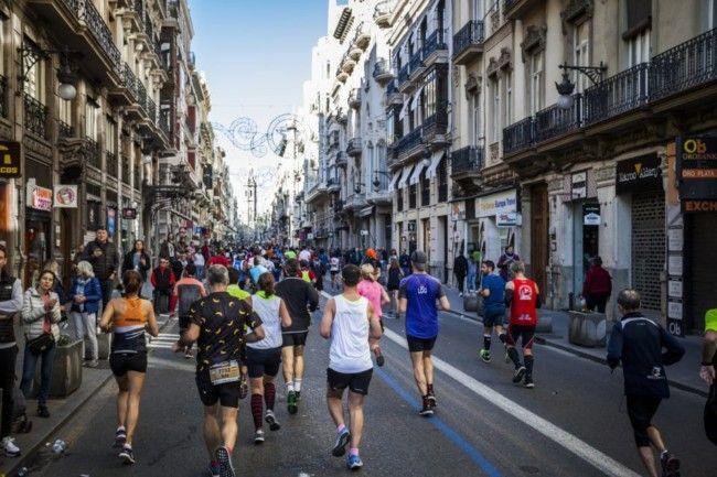 Maraton Valencia 2018 corredores