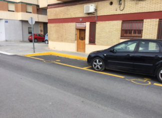 Massamagrell plazas coches discapacitados