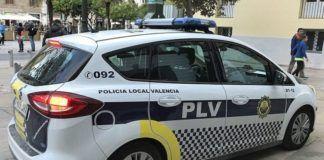 Policía Local Valencia coche