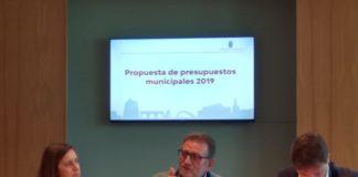 Presentacion propuesta presupuestos 2019 Torrent