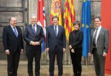 Ximo Puig recibe en audiencia al embajador británico